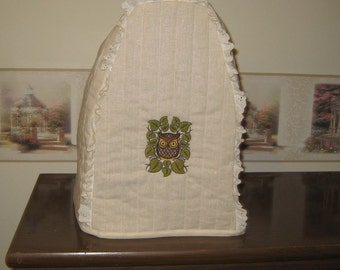 Kitchen Aid Mixer Cover Owls Embroidery Design