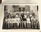 Sale Antique 1929 photo print elementary class Lakeside CA
