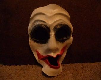 Leather Joker-Inspired Mask