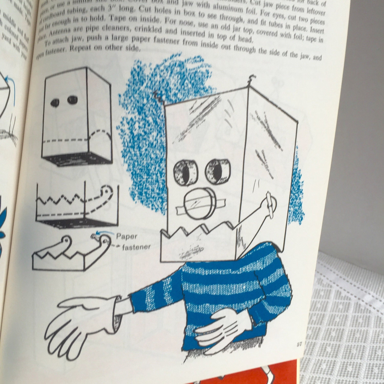 how to make a cardboard hardcover book