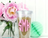 Personalised Monogram Drinks Tumbler