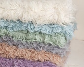 Hand Dyed Real Wool Flokati Rug - 3x5 Rug for Photographers - Newborn Photography