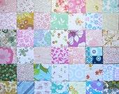"126 Vintage Sheet Charm Squares 5"""