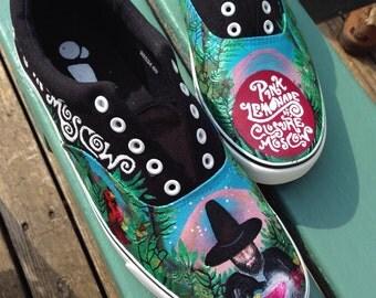 Custom Shoe Orders - Customised Bespoke Sneakers - Personalised Unique Gift Idea - Hand Painted Converse Vans Keds Toms - Custom Made Shoes