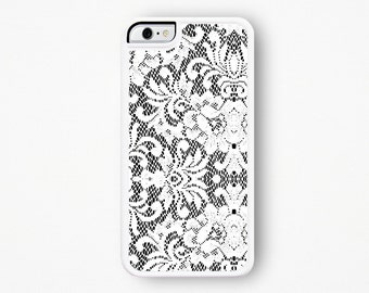 Lace iPhone Case / White Lace iPhone 6S Case Lace iPhone 6 Case Bridal Wedding Gift For Her Lace iPhone 5 Case Lace iPhone 5C Case 5S 6 Plus