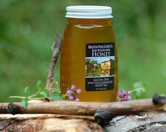 Raw, Wildflower Honey 8 oz.