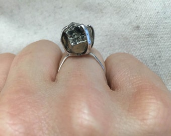 Bring the Bling Ring -  in Pyrite & Sterling Silver