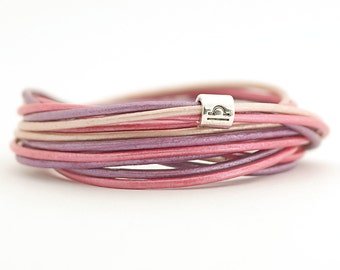 Libra Zodiac Sign Bracelet, Rose Pink Violet Boho Hippie Bracelet, Astrology Bracelet, Lilac Amethyst Bohemian Jewelry, Autumn trend jewelry