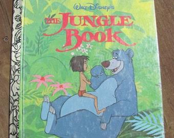 Vintage Little Golden Book The Jungle Book