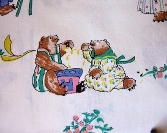Sale--2 Yards Alexander Henry Juvenile Fabric With Bears