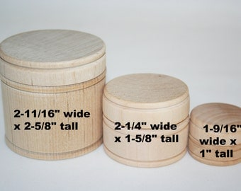 Wood Tooth Fairy Boxes, Wood Pill Box, Jewelry Box, Trinket Box, Wood Box, Small Box, Wooden Box with Lid