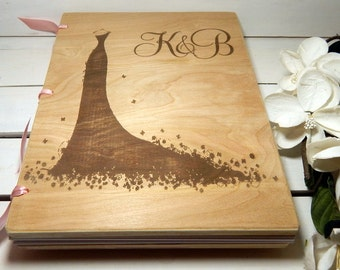 Wedding Guest Book, Advice For the Bride, Bridal Shower, Bridal Shower Guest Book, Guest Book, Bridal Party, Brides Gift, Gift for the Bride