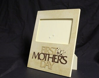 First Mother's Day picture frame