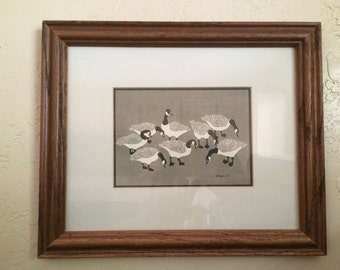 Lovely Canadian PNW Geese Art