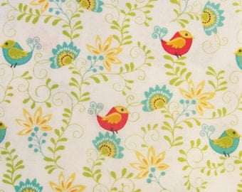 Sunday Ride birds by Cherry Guidry for Benartex patchwork quilting fabric P10084-09