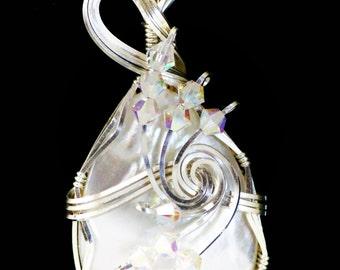 Pearl Pendant Women's Pendants Sterling Silver Pendants Swarovski Pendants