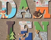 Woodland Wooden Letters, ...