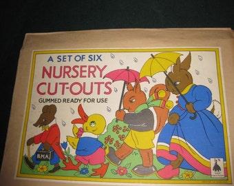 Vintage Nursery Cut-outs #12277