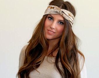 Headband - USMC girlfriend - headband - Stretch Headband - Marine girlfriend - Turban Headband
