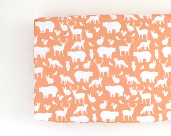 Changing Pad Cover Peach Woodland Party. Change Pad. Changing Pad. Minky Changing Pad Cover. Woodland Changing Pad Cover. Changing Pad Girl.