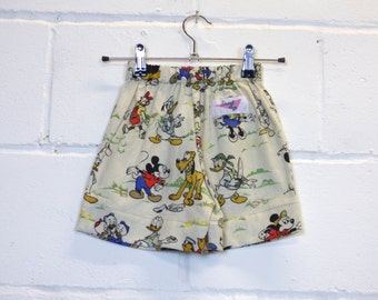 Upcycled Disney Kids Skirt