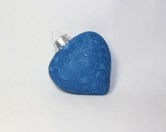 Polymer Clay Heart Ornament
