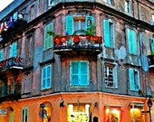 New Orleans French Quarter Old Apartments11x14 Limited Edition Print
