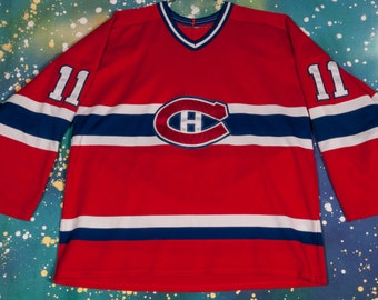 Montreal CANADIENS #11 Koivu Hockey Jersey Size XL