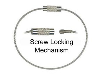Stainless Steel Aircraft Grade Key Ring Loop