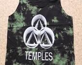 Psychedelic Retro Rock Punk Indie Alternative Garage Band Grunge Tie Dyed Tank Top