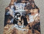Art Punk Rock Indie Alternative Garage Band Grunge Tie Dyed Tank Top