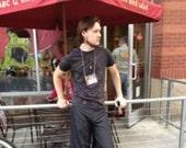 Custom order - Stephanie reverisble wrap pants