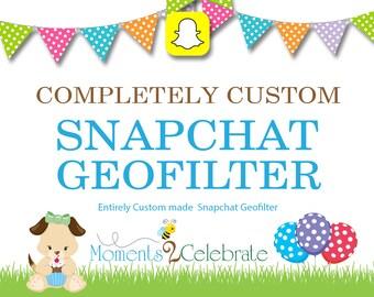 Snapchat GeoFilters, Birthday Snapchat Filters, Party Snapchat Filter, Custom Snapchat GeoFilter, Personalized Snapchat Filter - S15