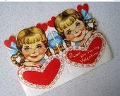 "60% OFF Large Mid Century ""Head of the Class"" Teacher Folding Valentine Card"