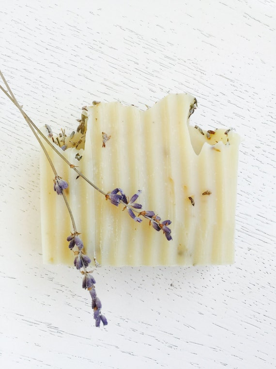 LAVENDER SOAP - French Lavender Organic Coconut Milk - Homemade Soap - Lavender - Vegan - All Natural Lavender Soap - lavender