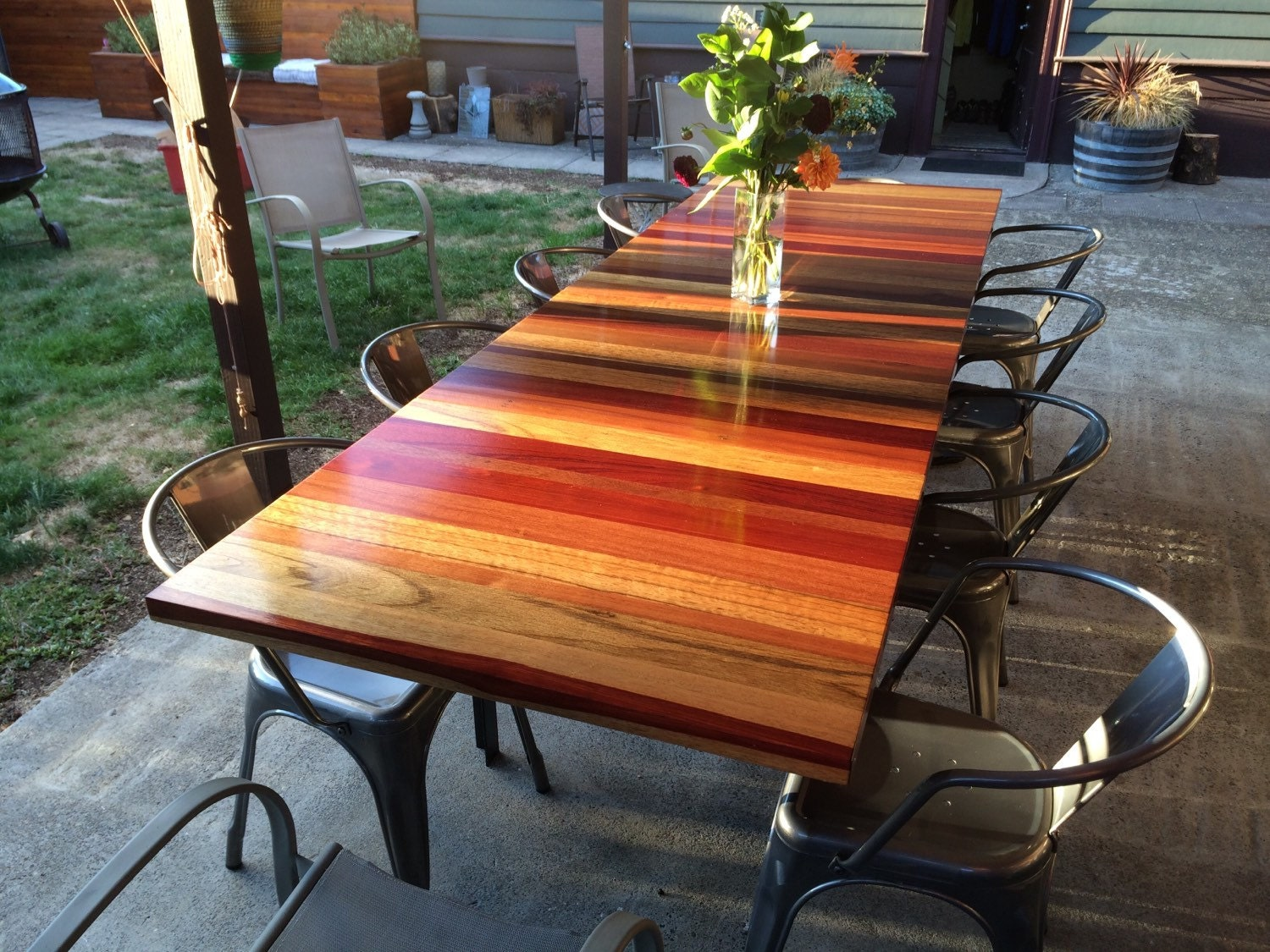 60 Table Seats How Many Reclaimed Dine Table Clear Finish No Staining Extra Long