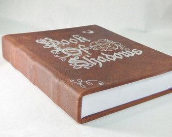 Book of Shadows Extra Large 600 Page Leather Journal Hardbound Writing Wiccan Pagan