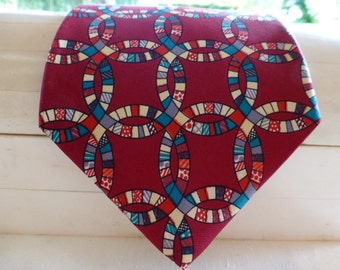DIFFA SILK TIE !  Symbol of Hope Tie, amazing like new condition. Wear it with Pride !!