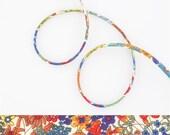 1 yard - Liberty of London Tana Lawn fabric - Spaghetti cord - Print: Margret Annie A - Last Piece!