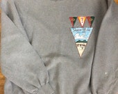 Vintage Guess Sweatshirt / 1980's Guess / Made in Korea / XL