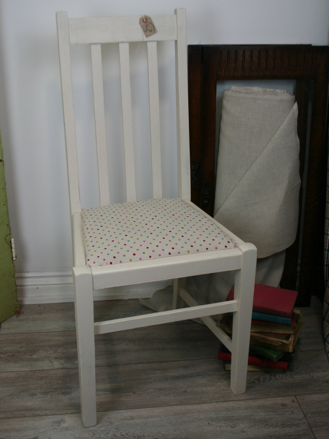 seat chair shabby chic dining or bedroom cute chair haute juice