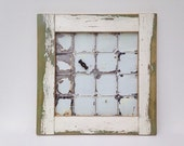 Magnet Board - 19th Century Reclaimed Wood and Ceiling Tin from Eastern Ontario