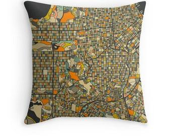 SAN FRANCISCO MAP, Throw pillow for your modern home decor