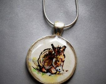 donkey necklace