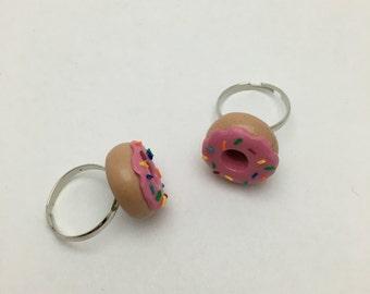 Sprinkled Doughnut Ring