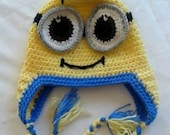 Despicable Me Inspired Minion Hat