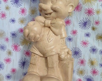 Walt Disney Prod., Dell, Edward Mobley, Pinocchio, Rubber squeak toy
