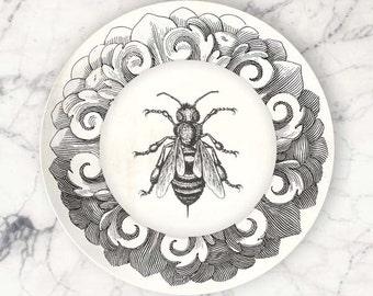 Bee No.1 melamine plate