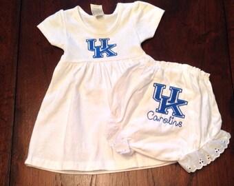 UK Baby Dress and Bloomer Set