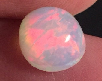 2.95 Carat High Domed RED Welo Opal Gem Cabochon